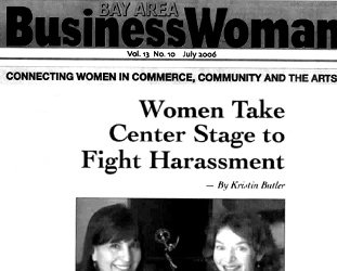 Cover of Bay Area Business Woman