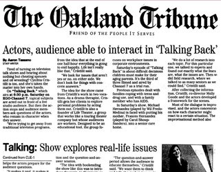 Cover of Oakland Tribune