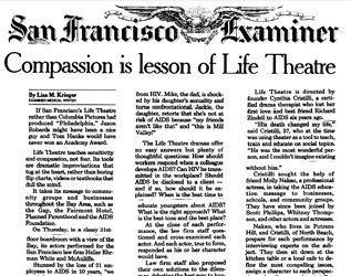 Cover of San Francisco Examiner